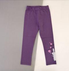 Трикотажные лосины для девочки (фиолетовые), ЛС-134