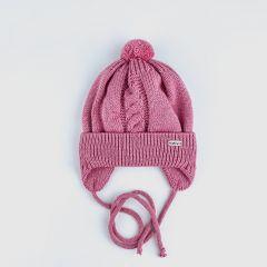 Трикотажна шапка для дитини (рожева), Talvi 01396