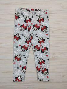 """Трикотажні легінси """"Minnie Mouse"""" для дівчинки, 303116-Н-13"""