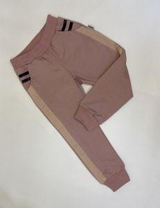 Трикотажні штани для дитини (рожева пудра) Robinzone ШТ-306
