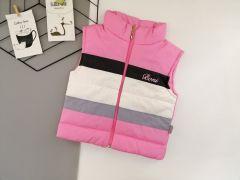 Стильний жилет для дівчинки (світло-рожевий), Boni 192
