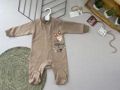 Трикотажний чоловічок для дитини (бежевий), Lotex 360-01