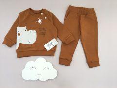 Трикотажний комплект для дитини (коричневий), Lotex 415-16