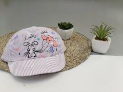 Літня кепка для дівчинки 1 шт. (фіолетова), Kitti 1000-11