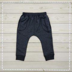 Трикотажні штани для хлопчика (темно-сірі), 107213-3