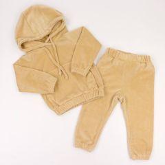 Велюровий костюм для дитини (бежевий), Coolton
