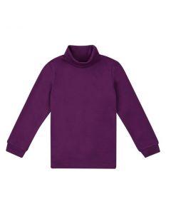 Трикотажний гольф для дитини (темно-фіолетовий), ЗЛС128