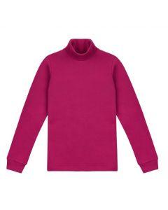 Трикотажний гольф для дівчинки (фіолетовий), ЗЛС128