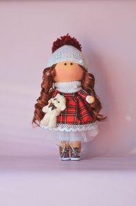 """Текстильна лялька ручної роботи """"Розі""""  ДекоЛад"""