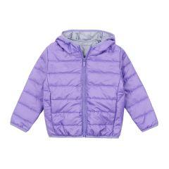 Демісезонна куртка для дівчинки (фіолетова), 2ПЛ103