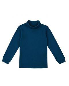 Трикотажний гольф для дитини (темно-синій), ЗЛС128