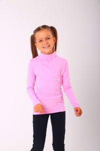 Трикотажний гольф для дівчинки (рожевий), 314106/324106