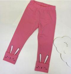 Трикотажні лосіни для дівчинки (рожеві), ЛС-176
