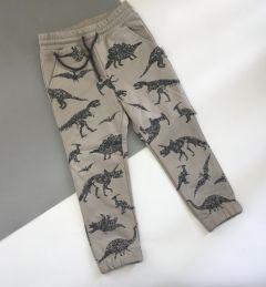 Трикотажні штани для дитини (сіро-бежеві), Robinzone ШТ-348/347