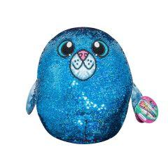 М'яка іграшка з паєтками - ТЮЛЕНЬ АКВА (36 см.), SHIMMEEZ SH01054S