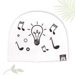 """Веселая трикотажная шапочка """"Light and Music"""", 03-02001"""