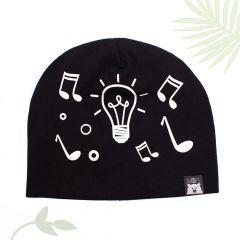 """Веселая трикотажная шапочка """"Light and Music"""", 03-02002"""