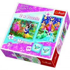 """Пазли """"Princess, чарівний світ'', Trefl 90815"""