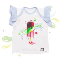 Красива футболка для дівчинки, 08-00101
