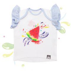 Красива футболка для дівчинки, 08-00103