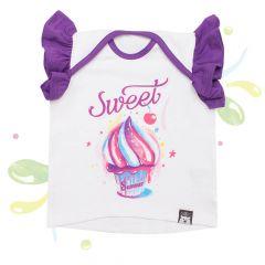 Красивая футболка для девочки, 08-00104