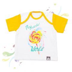Яскрава футболка для дитини, 08-00204