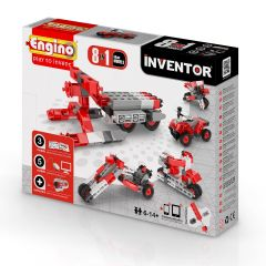 Конструктор INVENTOR 8 в 1 -Мотоциклы, Engino 0832