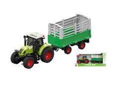 Трактор з причепом зі світловими і звуковими ефектами, Wenyi WY900H