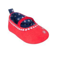 Пінетки для дівчинки, червоні OB-065