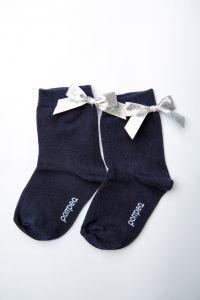 """Шкарпетки для дівчинки """"Star"""" (темно-сині), Pompea."""
