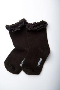 """Носочки для девочки """"Diamante"""" (черные), Pompea."""