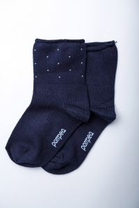 """Носочки для девочки """"Diva"""" (темно-синие), Pompea."""