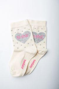 """Шкарпетки для дівчинки """"Ametista"""" (айворі), Pompea."""
