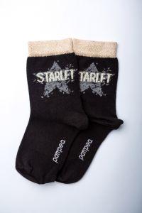 """Носочки для девочки """"Ametista"""" (черные), Pompea."""