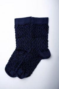 """Шкарпетки для дівчинки """"Zafirro"""" (темно-сині), Pompea."""
