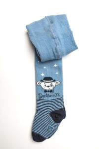 """Колготки для хлопчика """"Bear"""" (сині), Pompea."""