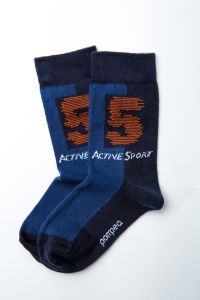 """Шкарпетки для хлопчика """"Gong"""" (темно-сині), Pompea."""