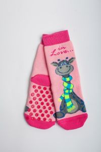 """Теплі шкарпетки для дівчинки """"Zumba"""" (рожевий), Pompea."""