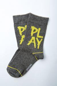"""Шкарпетки для хлопчика """"Gong"""" (сірі), Pompea."""
