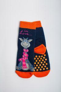"""Теплі шкарпетки для дівчинки """"Zumba"""" (темно-синій), Pompea."""