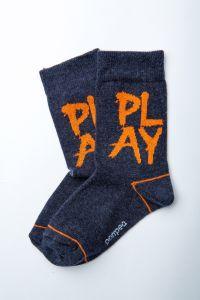 """Шкарпетки для хлопчика """"Gong"""" (синій меланж), Pompea."""