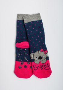 """Теплі шкарпетки для дівчинки """"Samba"""" (темно-синій), Pompea."""