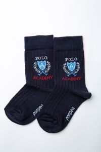 """Шкарпетки для хлопчика """"Mandolino"""" (темно-сині), Pompea."""