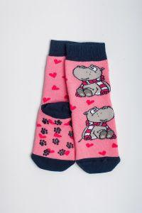 """Теплі шкарпетки для дівчинки """"Sweet"""" (рожевий), Pompea."""