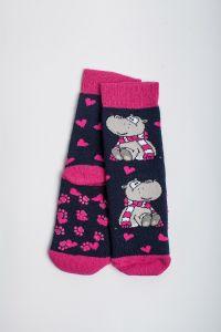 """Теплі шкарпетки для дівчинки """"Sweet"""" (синій), Pompea."""