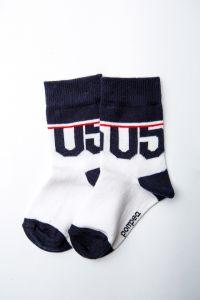 """Шкарпетки для хлопчика """"Tromba"""" (синьо-білі), Pompea."""