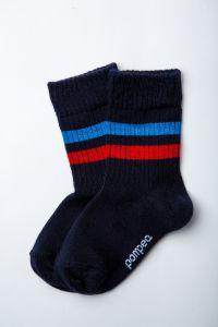 """Шкарпетки для хлопчика """"Tromba"""" (темно-сині), Pompea."""