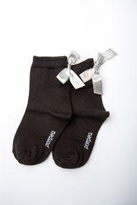 """Шкарпетки для дівчинки """"Star"""" (чорні), Pompea."""
