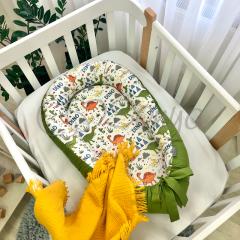 """Кокон """"Baby Design"""" (діно олива) Маленька Соня 5019463"""