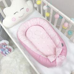 """Кокон """"Baby Design"""" зірки на рожевому Маленька Соня 5019376"""